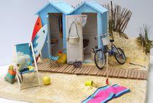 Miniature Beach house