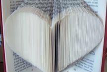 Livres pliés