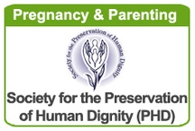 PREGNANCY & PARENTING / MISSION: Society for the Preservation of Human Dignity (PHD) affirms the value of women's lives and families facing pregnancy and parenting issues. We provide opportunities for the hope and growth through professional counseling, education and integrated support services to meet the unique practical and emotional needs of each individual. PHD empowers adolescents to protect their future goals through healthy sexuality and relationship education and learning the power of abstinence. / by DonorShare of Palatine