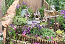 Gardens for little girls / Fairy Gradens