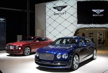 Bentley Motors at Frankfurt International Motor Show 2013 / The new Bentley Motors show stand was revealed at the Frankfurt International Auto Show 2013, with the new Continental GT V8 S and V8 S Convertible on stand.