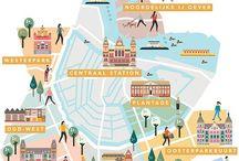 Graphics illustration landscape