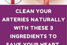 CLEAN YOUR ARTERYS NATURALY WITH THESE 3 INGREDIECE