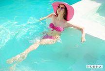 Enjoy the summer / Accesorii de vara: costume de baie, palarii de vara, sandale cu talpa joasa | POEMA  http://shop.poema.ro/poema-online