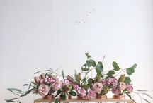 Rambling Flowers / Inspired by rambling flowers and ways to arrange them.
