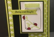 "Stampin Up Sharing Sweet Thoughts / These are cards and projects I've created using ""Sharing Sweet Thoughts"" by Stampin' Up!. Full supply lists can be found on my blog www.stampwithpeggy.com come check it out."