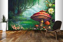 Enchanted back drops