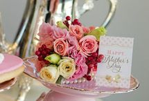 Mother's Day Tea Ideas / Share a cup of tea with your mom!