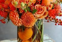 Flowers:  Fall bouquets, Herfst boeketten