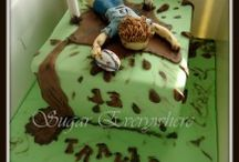 Rugby cakes