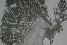 Dons de Cícero arte desenho realista / trabalho do meu esposo