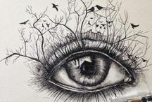 Interesting art x / Eye catching tattoo ideas...