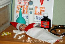 Elf on shelf / by Ashley Hawk-Davis