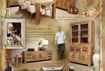 Advertenties Country Lifestyle / Moodboard vol met inspiratie over het landelijke leven, meubelen, kleding en cadeaus van Country Lifestyle in Putten