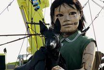 Little Giant Puppet Girl