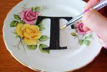 Frugal Decor from Plates / by Frugal Decorating Diva
