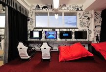wall art + murals / Awesome & inspirational office wall art ideas & wall decor for your office