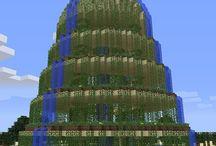 Minecraft gardens