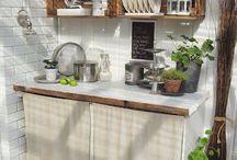 kuchyně zahrada