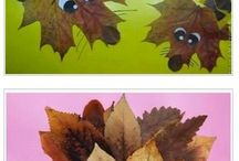leaf crafts kids