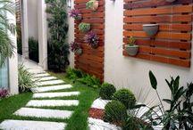 modelo de jardins