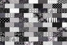 черно-бело-серое