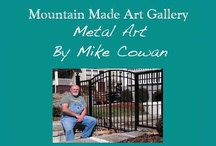 Metal Yard Art / Metal work has long been one of mankind's most adaptable arts. From plowshares to eating utensils, metal smithing has always been a craft made for functionality. But our local blacksmiths (iron and steel artisans) as well as our other metal work artists have taken this seemly simple craft and created pieces that are both high quality art forms as well as functional home and garden accents.