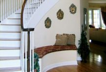 Curved stair cases