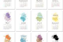 calendary 2017