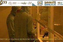 Village nano Villetaneuse / stand et salle blanche de l'IUT en microélectronique Paris 13 !