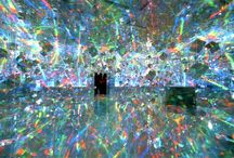 installations & environments / by Nancy Broadbent