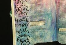 Bible Journaling - Micah