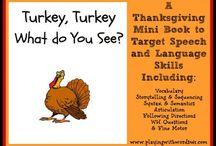 Thanksgiving ideas for school / by Melissa Varn