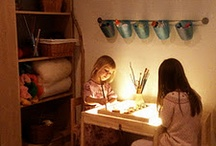 Kids Reggio Inspired Learning/Play Spaces / by Jennifer Rosen