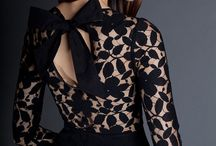 Dress with ribon