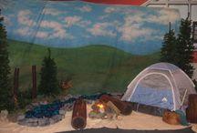 camp themed classroom