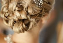 Wedding hair  / Bride/Bridesmaid hair styles