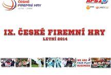 ČESKÉ FIREMNÍ HRY - CZECH CORPORATE/BUSINESS SPORTS GAMES / ČESKÉ FIREMNÍ HRY - CZECH CORPORATE/BUSINESS SPORTS GAMES www.ceskefiremnihry.cz