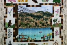 Quilting for Cabins / Cabins and Quilting go hand in hand. Get ideas for your Big Bear Lake cabin or vacation rental.