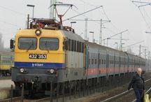 Vasúti járművek. / Vonatok, amiket itt-ott fotóztam.