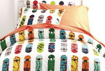 Bedding for skateboarders