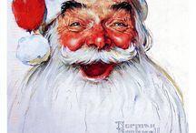 Święty Mikołaj w sztuce