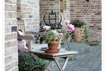 Vintage house and garden decor