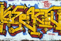 Graffiti / Graffiti peints par Hyperactivity