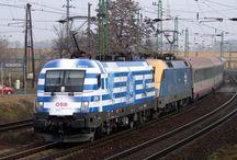 vlaky - Rakousko