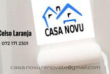 Casa Nouv -Business cards / My graphic designs