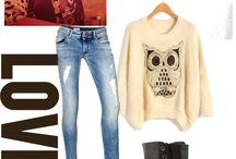 A lil preppy / My style......