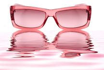 Rose Colored Glasses  / Cheerful or optimistic, especially to an excessive degree: took a rose-colored view of the situation. Idiom: through rose-colored glasses With an unduly cheerful, optimistic, or favorable view of things: see the world through rose-colored glasses / by Lyn Drabot