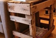 Pallet/barn board ideas