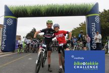Bike & Tekkie Challenge 2015 / The Medihelp Bike & Tekkie Challenge takes place on Saturday, 5 September 2015 at the Jan Kriel School in Kuilsrivier and includes a 10 km road race and a 5 km fun run/walk.  Two mountain biking challenges will also be held over ±20 km and ±47 km covering the breathtakingly beautiful routes in the Bottelary Hills Conservancy and Zev enwacht Estate.